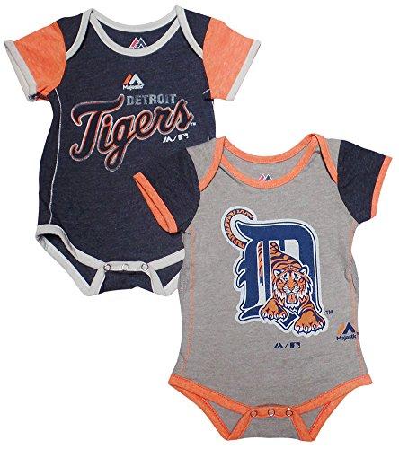Detroit Tigers Baby/Infant 2 Piece Creeper Set 24 Months ()