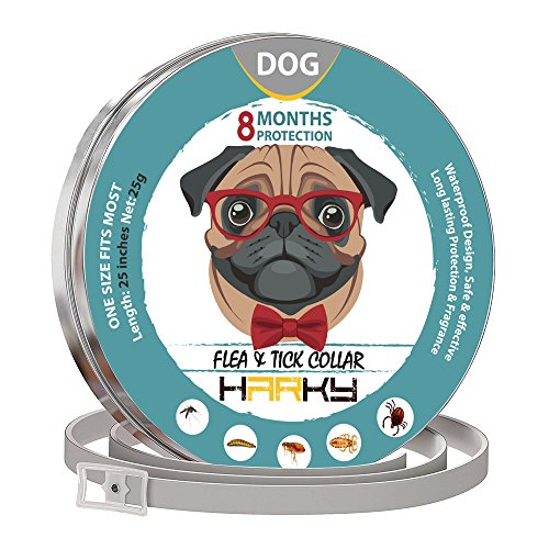 HARKY Natural flea collar for puppies and dogs