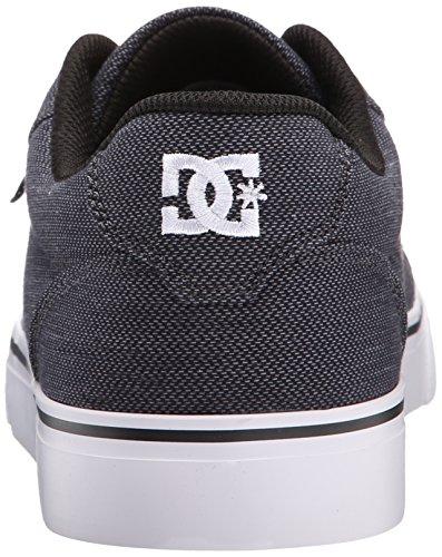 Shoe Black Gunmetal Skate White SE DC Men's TX Anvil Y1XgU1nax