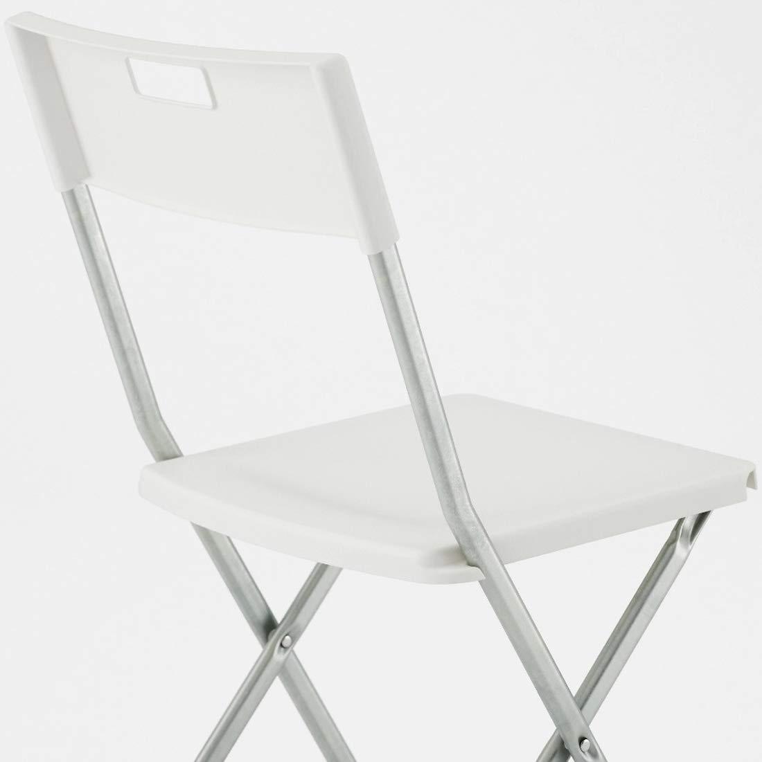Porta Sedie Pieghevoli Ikea.Sedie Sf Savino Filippo 6 Sedie Sedia Poltrona Pieghevole Bianca