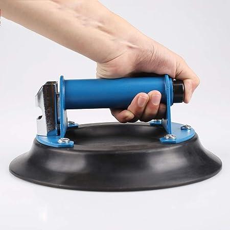 WYKDL Aspiradora de mano de cristal Copa de succión for trabajo pesado panel de vidrio levantador de gran alcance industrial lechón Carrier con la manija de elevación de granito y WindowReplacement Ca: