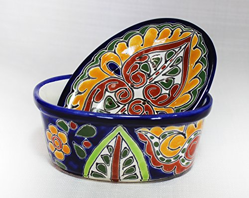 Talavera Oval Soap Dish With Drainage Cover