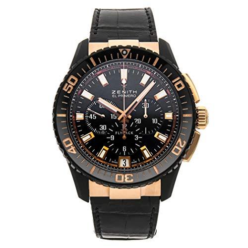 Zenith El Primero Mechanical (Automatic) Black Dial Mens Watch 85.2060.405/23.C714 (Certified -
