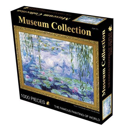"Museum Collection 1000-Piece Claude Monet ""Water Lillies"" Jigsaw Puzzle 63152-14"