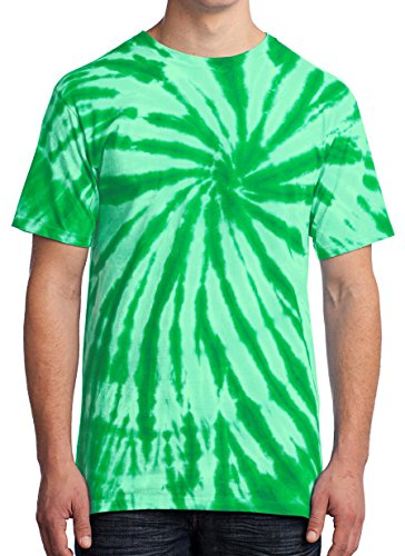 GoldenGateTees Tie Die T-Shirt Kelly L
