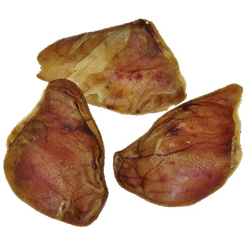 Pig Ears for Dogs | 30 count | Quality Dog Chews by 123 Treats | 100% Natural Pork Ears Full of Protein for Your Pet