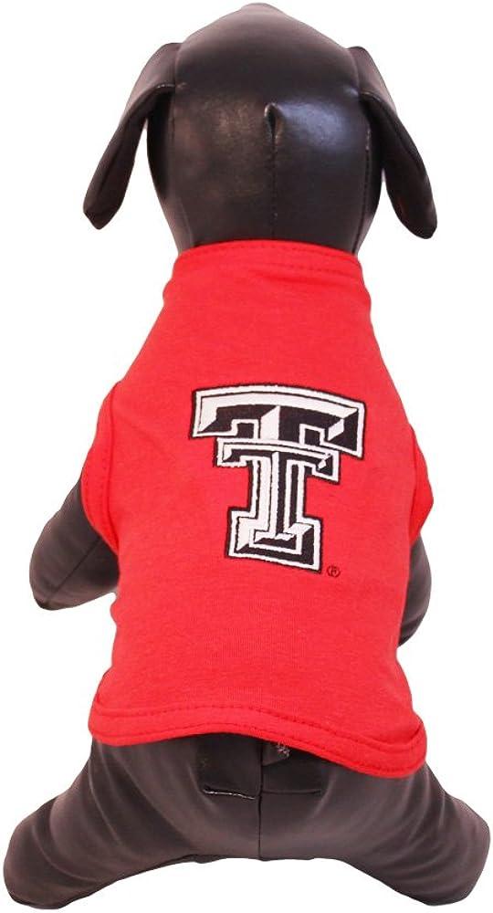 NCAA Texas Tech Red Raiders Cotton Lycra Dog Tank Top