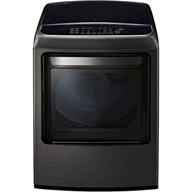 LG DLEY1901KE 7.3 Cu. Ft. Black Stainless Electric Dryer with Steam