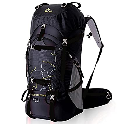 Fengtu 60L Outdoor Sport Bags Water-resistant Hiking Backpack for Men And  Women Trekking Bag Backpacking Climbing Backpack camping Backpack Travel  Backpack ... 2c776f39f9