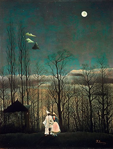 Berkin Arts Henri Rousseau Giclee Canvas Print Paintings Poster Reproduction (Carnival (Henri Rousseau Canvas Painting)