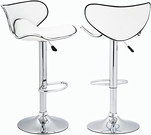 BestOffice Adjustable Height Swivel Bar Stool