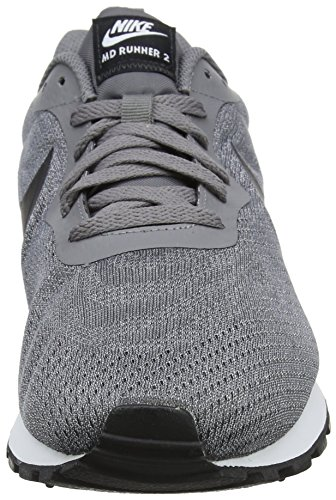 2 Md Homme white Running black 003 Mesh vast De Grey Eng Gris Chaussures Nike Runner gun Smoke EAqwAR