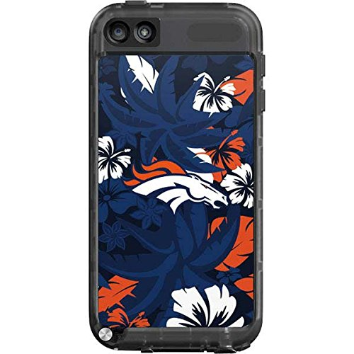 Skinit Denver Broncos Tropical Print LifeProof fre iPod Touch 5th Gen Skin for CASE - Officially Licensed NFL Skin for Popular Cases Decal - Ultra Thin, Lightweight Vinyl Decal Protection (Ipod Touch Denver Broncos Case)