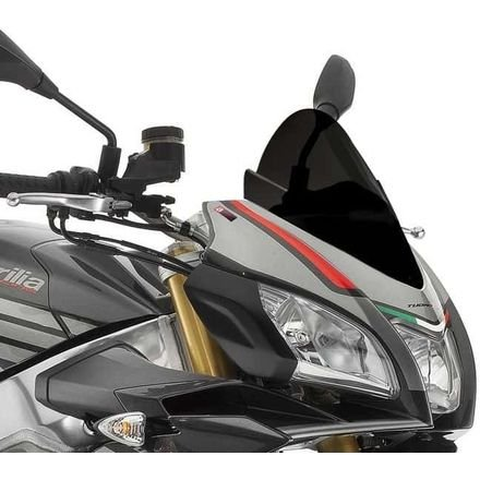 16-17 APRILIA TuonoV411RRABS: Puig Z Racing Windscreen (BLACK)