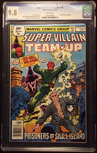 SUPER-VILLAIN TEAM-UP (1975) #16 CGC GRADED 9.8 WHITE PAGE HATE MONGER RED SKULL