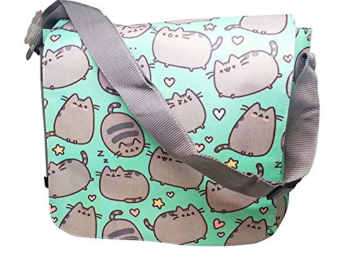 Pusheen The Cat Messenger Cross Body Shoulder Bag (Pusheen Sunglasses)