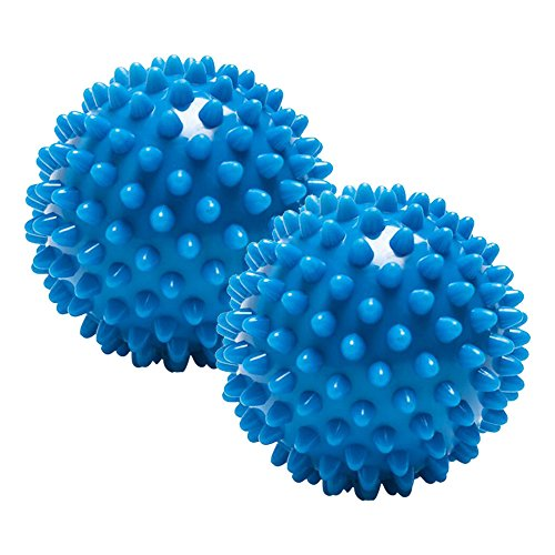 Muscle Relaxation Yoga Fitness Foot and Back Massage Ball Plantar Fasciitis, Muscle Soreness Acupressure Massage Ball, Relaxing Massage Ball Acupuncture Point deep 2 Massage (Acupuncture Health Balls)
