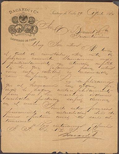 emilio-bacardi-y-moreau-autograph-letter-signed