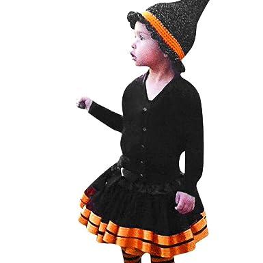 ZOELOVE Ropa Infantil de Halloween Disfraz de Halloween Niños ...