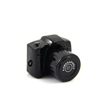 Mengshen más pequeño 1080 * 720p Super Mini Mini cámara de vídeo grabadora videocámara DVR (Negro) MS-Y3000: Amazon.es: Bricolaje y herramientas