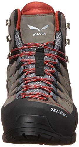 Salewa Ws Alp Stroom Mid Gtx Damen Trekking- & Wanderstiefel Grau (houtskool / Indio 0793)