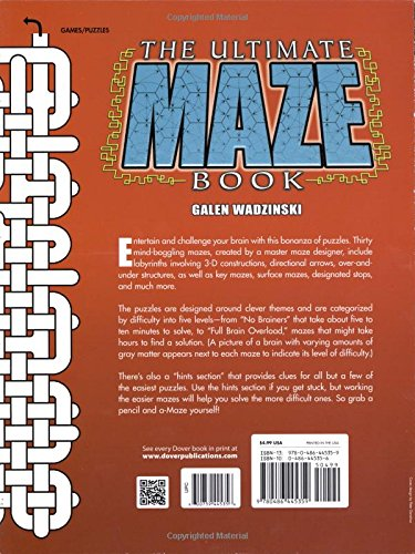 The-Ultimate-Maze-Book-Dover-Childrens-Activity-Books