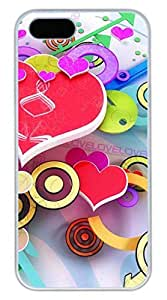 Love 28 Cover Case Skin for iPhone 5 5S Hard PC White