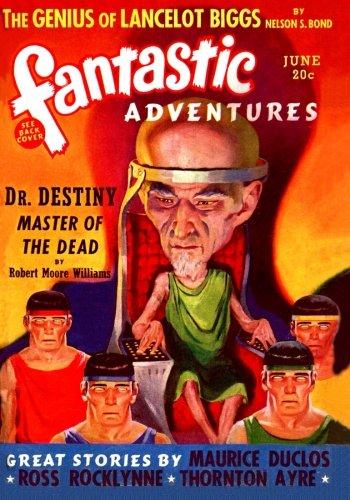 Fantastic Adventures: June 1940
