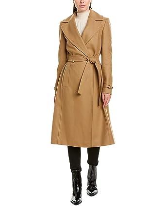 2019 hot sale shop for official san francisco Amazon.com: Karen Millen Womens Wool-Blend Coat, 8, Beige ...