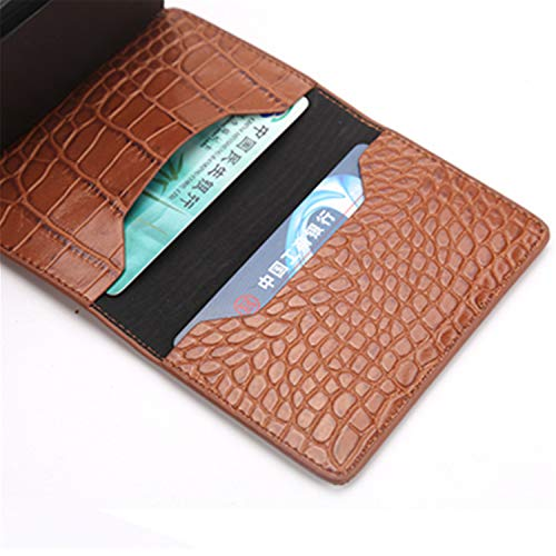 Clearance 2019 New Aluminum Wallet Credit Card Holder Metal with RFID Blocking Slim Carbon Fiber Card ID Wallet by Francis4 (Image #2)