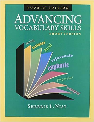 Advancing Vocabulary Skills Short Version