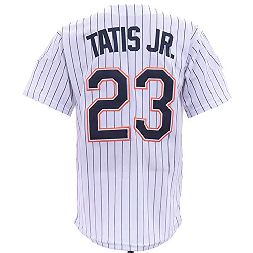 PGONENET_Men/Women/Youth_Fernando_Tatis_Jr_White_Throwback_Game_Jersey ()