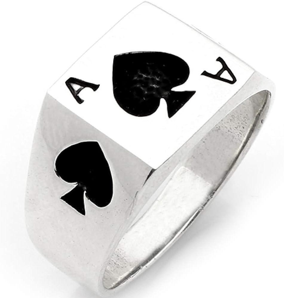 Breloque double Poker Ace pour bracelet en argent sterling 925