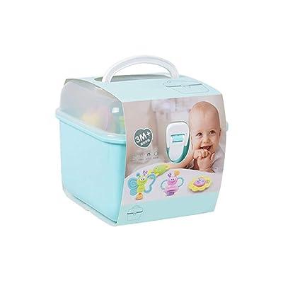 Liteness Mordedor Rattle Set, juguetes del bebé para los bebés recién nacidos educación de la primera dentición Juguetes para bebés, Dentición juguetes para bebes, regalos de Nueva: Hogar