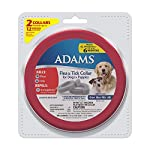 Adams Flea and Tick Collar for Dogs and Puppies, One Size Fits All, 2-Pack by Farnam Companies, Inc.