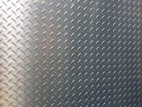 "1//4/"" Aluminum Diamond Tread Plate 2/"" x 12/"""
