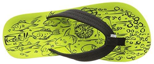 Reef Kinder Sandale Grom Footprint Sandalen Jungen Green