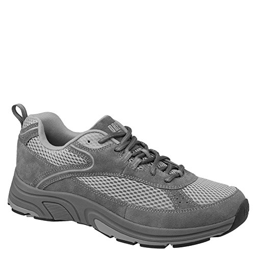Drew Shoe Men's Aaron Sneakers,Gray,14 W ()