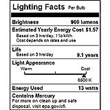 Sunlite 00815-SU CFL Mini Spiral Light Bulb, 13