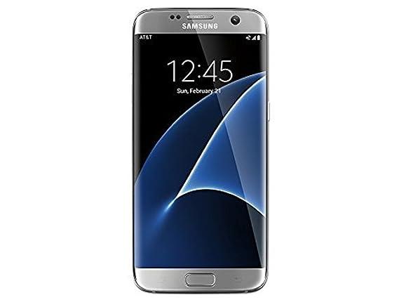 Samsung Galaxy S7 Edge G935A 32GB Silver - Unlocked GSM (Renewed)