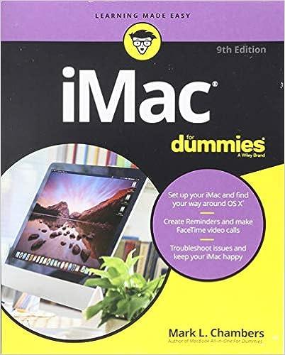 Imac For Dummies 9E