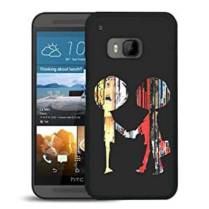 Popular And Lovely Designed Case For HTC ONE M9 With Radiohead Black Phone Case