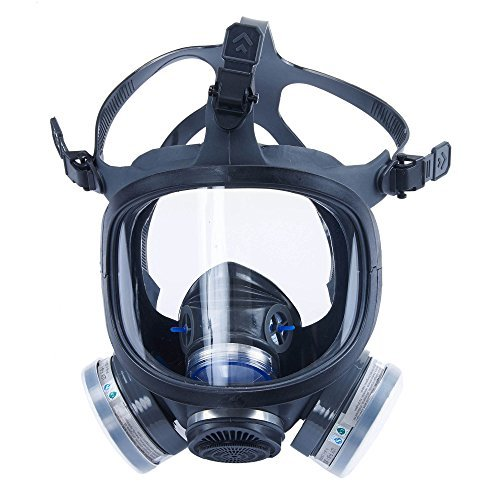Holulo ST-M70-3 Organic Full Face Respirator Safety Mask (ST-M70-3 Mask+1 Pair 3# filter Cartridges) by Holulo (Image #9)