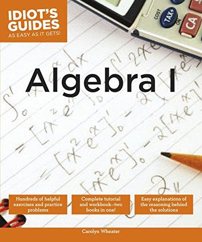 Algebra I (Idiot's Guides)