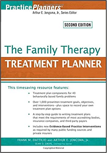 Amazon.com: The Family Therapy Treatment Planner (9780470441930 ...