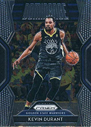 cb9605cd093 2018-19 Panini Prizm Dominance  9 Kevin Durant Golden State Warriors Basketball  Card