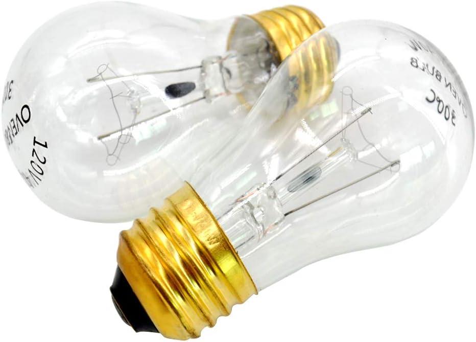 120 Volt A15 40 Watt Light Bulbs,Appliance Bulbs with Medium Base,Refrigerator Bulb Clear Ceiling Fan Bulbs