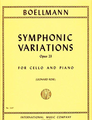 Boellmann: Symphonic Variations, Op. 23 - Cello