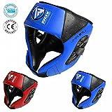 youth boxing - RDX Maya Hide Leather Kids Boxing MMA Headgear Junior Head Guard Children Youth Helmet