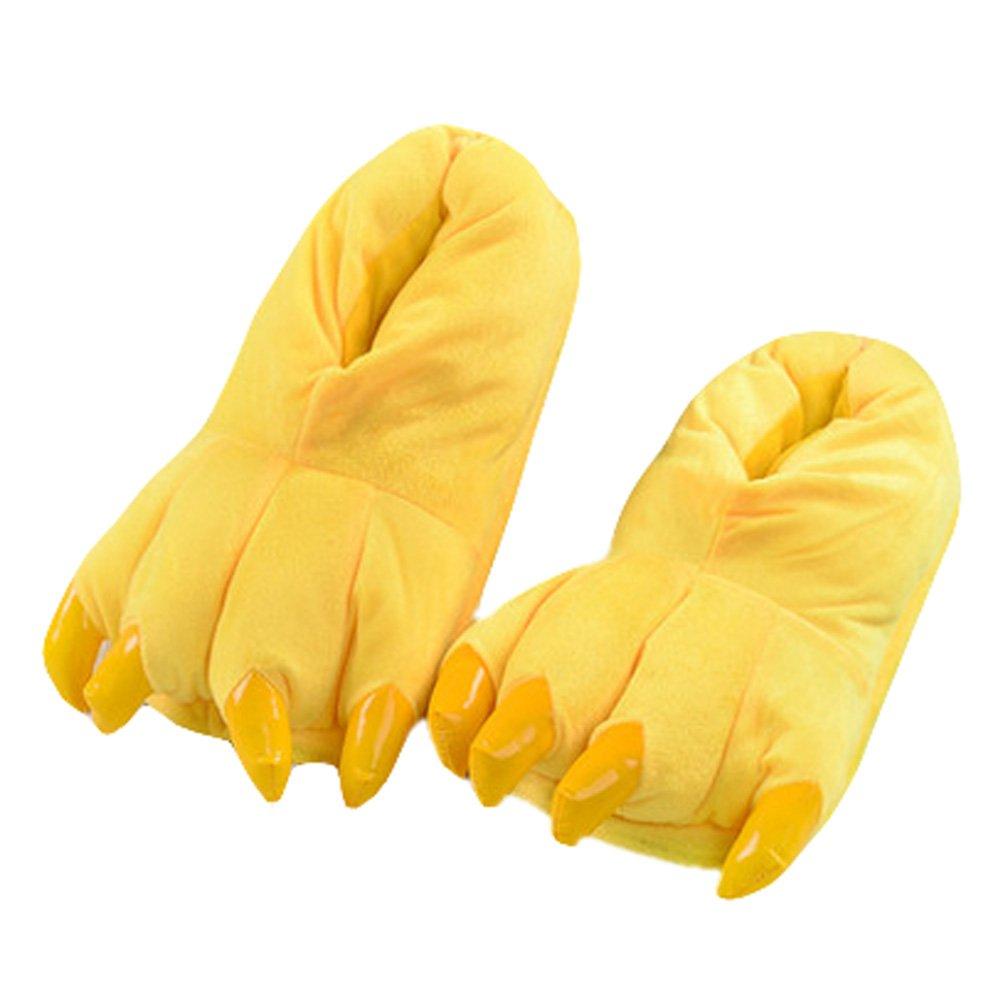 Lovely Dinosaur Claw Indoor Slippers Warm Cozy Fashion Slipper Best Baby Gift C Blancho Bedding
